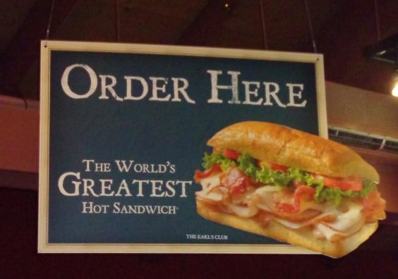The Earl of Sandwich