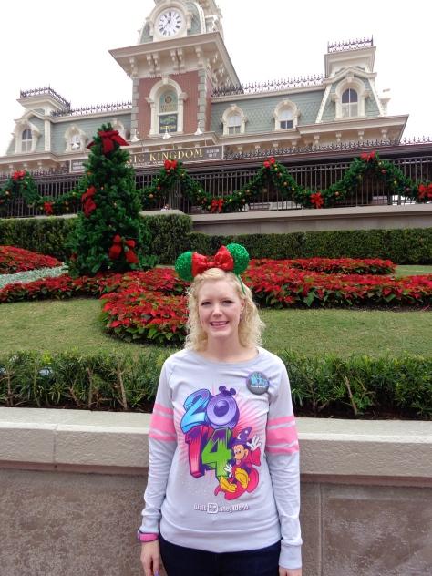 At the Magic Kingdom!