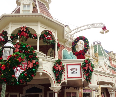 The Plaza Ice Cream Parlor on Main Street USA