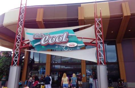 Club Cool at Epcot.