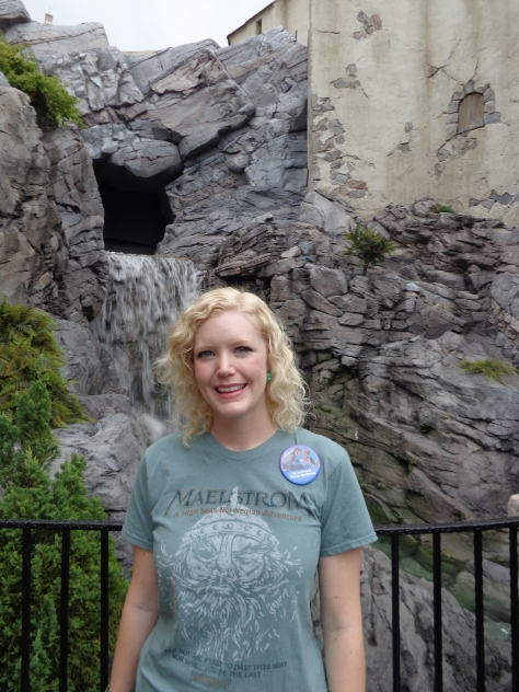 Caroline even wore her Maelstrom t-shirt in honor of the occasion.