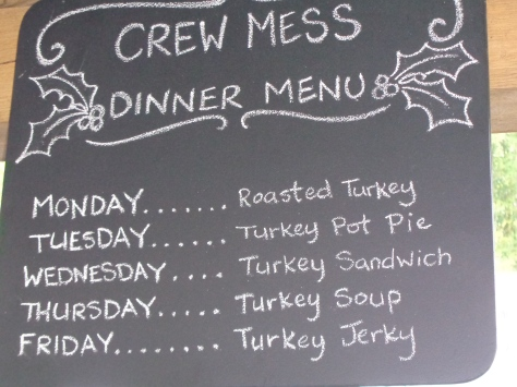Love this menu for the week!