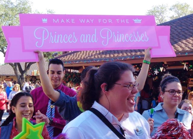 The 2pm parade of princesses