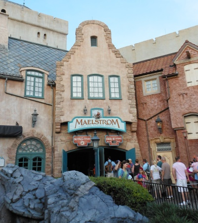 Early October before Maelstrom closed...the wait lines were very long!