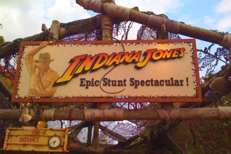 The Indiana Jones Stunt Spectacular