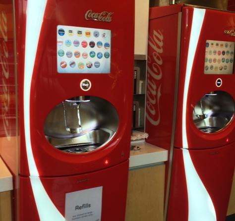 Free soda!!!