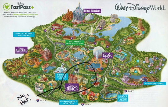 Mickey's Hat has already been removed on some Disney maps!