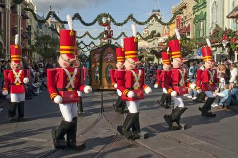 It's not easy being a Disney Toy Soldier!