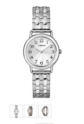 Plain women's watch.