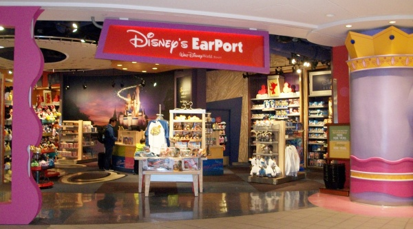 There are two EarPort Disney stores at the Orlando airport.