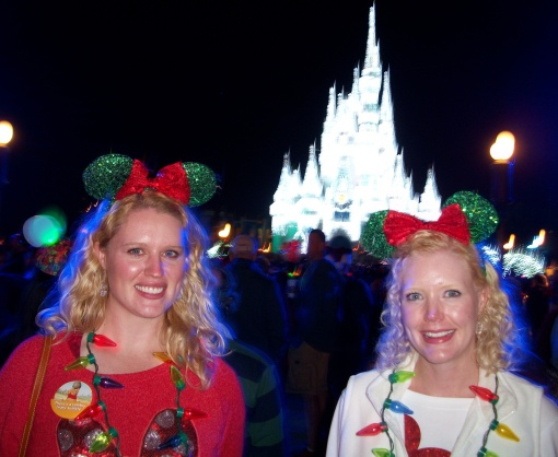 On Main Street USA after the show.