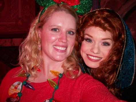 Elly's selfie with Merida.