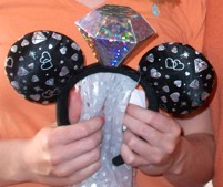 This Mickey hat is only available at Disneyland.