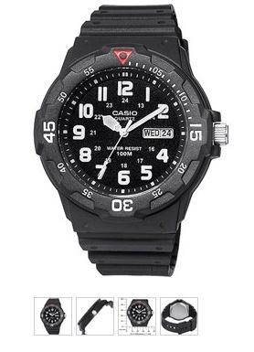 Plain men's watch.