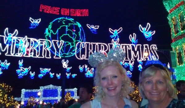 The music that accompanied the light show was excellent!