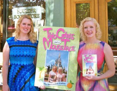 At our book launch in Boulder, Colorado.