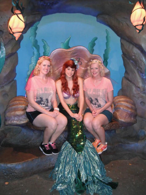 Seeing Ariel during our DCP program, 2014.  She is so pretty!
