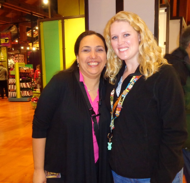 My coordinator friend, Amalia.  I worked with her at DTD Zone 1.