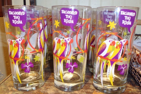Enchanted Tiki Room glasses!
