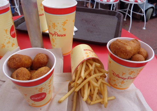 Finally, corn dogs!
