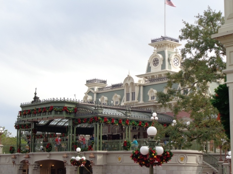 The train station on Main Street.