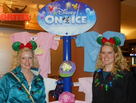 DIsney on Ice at the Pepsi Center in Denver.