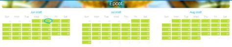 Epcot June 2016