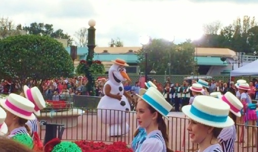 Olaf again