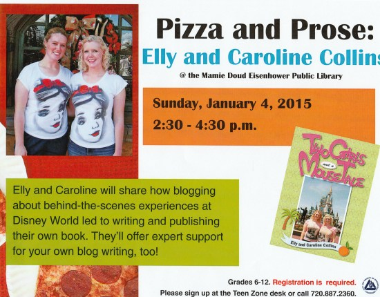 Pizza and Prose Young Authors Event