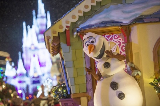 Olaf is new to the parade this year.