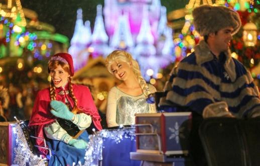 Anna and Queen Elsa