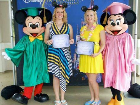 DCP graduation Mickey