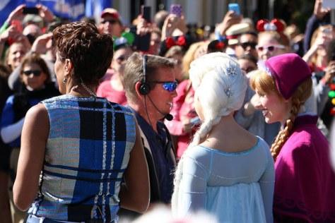 Robin Roberts, parade's cohost.