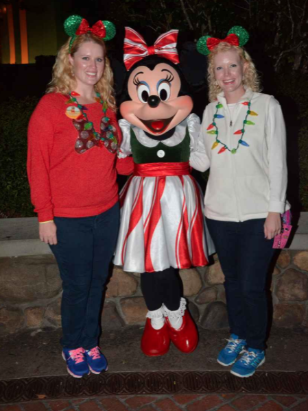 We love Minnie.  She's always so nice.