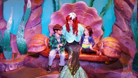 A warm cape for Princess Ariel.