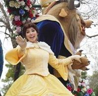 Belle looks warm.