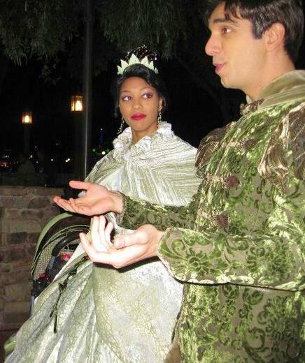 Tiana and Prince Naveen
