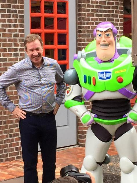Tim and Buzz Lightyear