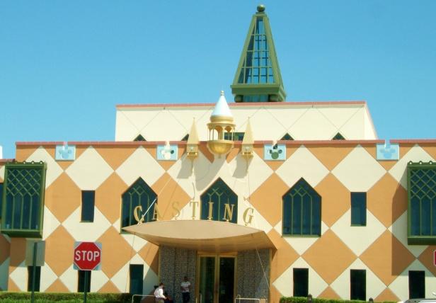 Disney Casting building at DTD.