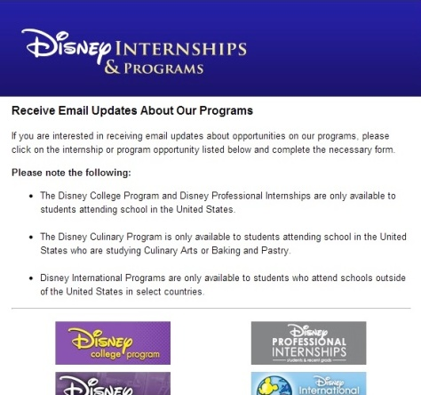 DCP Program info