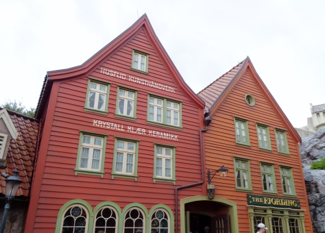 The shops of Epcot Norway