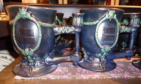 Haunted Mansion coffee mugs.