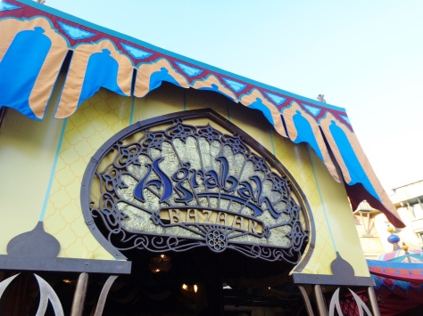 Their meet and greet area is right next to Agrabah where Elly worked.