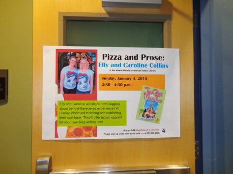 Pizza and Prose at the Broomfield Library