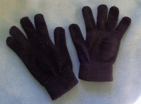 Black Disney work gloves for all costumes.  Don't lose these!  Costuming will charge you $10 if you don't turn them in!