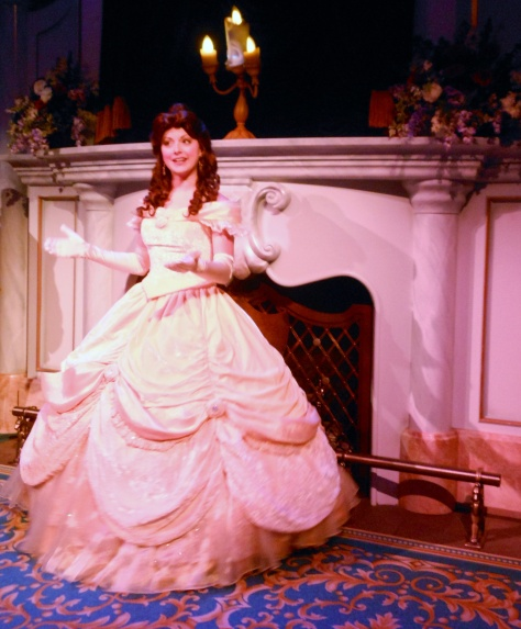 Belle has the best dress of any of the Disney princesses.