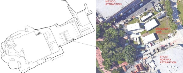 Location of new 'Frozen' Meet & Greet Area in Epcot