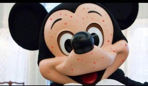 Poor Mickey!
