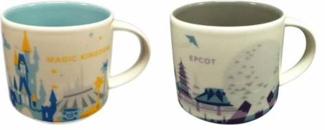 The MK and Epcot mugs