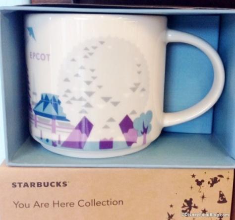 Purple Epcot Starbucks mug